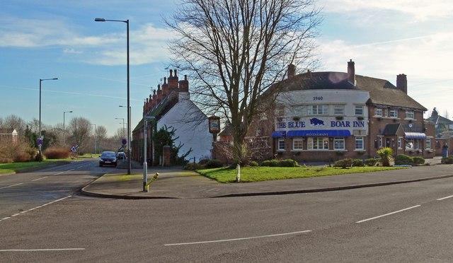 The Blue Boar Inn, Mancetter