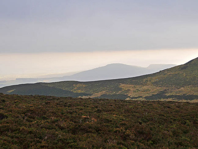 Distant view of Torlum Hill
