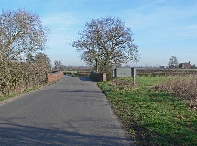 Ratcliffe Road Bridge, Atherstone