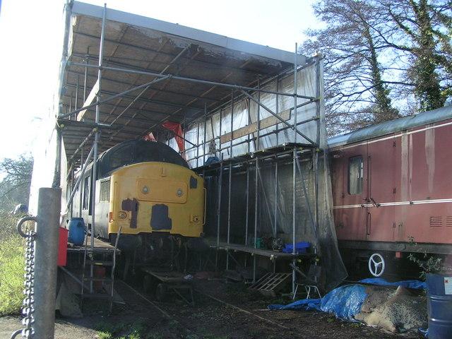 Train repairs