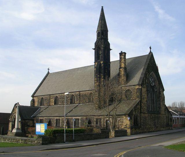St Agnes' Church - Stoney Rock Lane