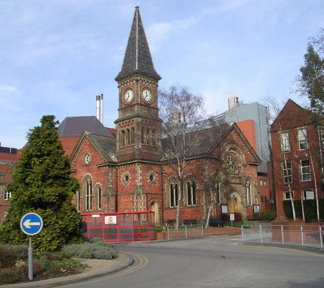 St James' Hospital Chapel - Beckett Street