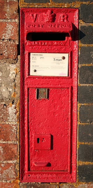 Victorian Letter Box, The Old School House, Hook