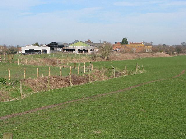 Footpath near Highcross Farm