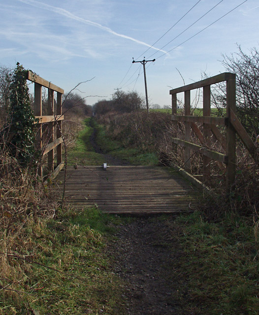 Hudson Way footbridge
