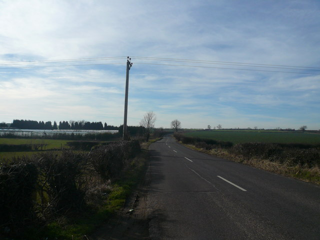 Road View - Heading to Palterton from Scarcliffe