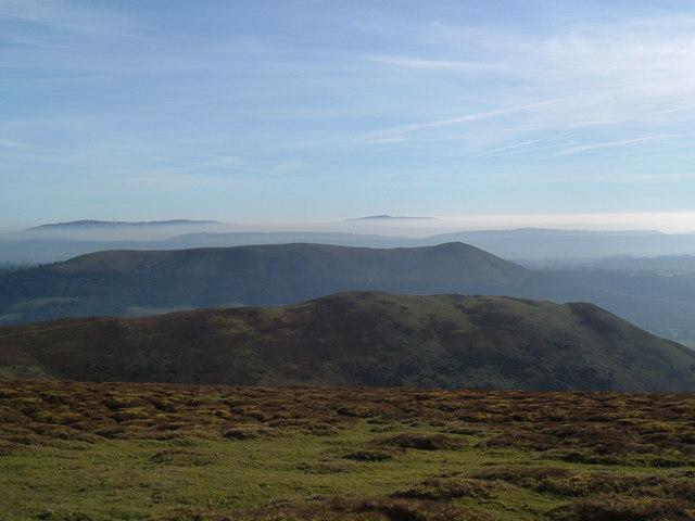 Shropshire summits