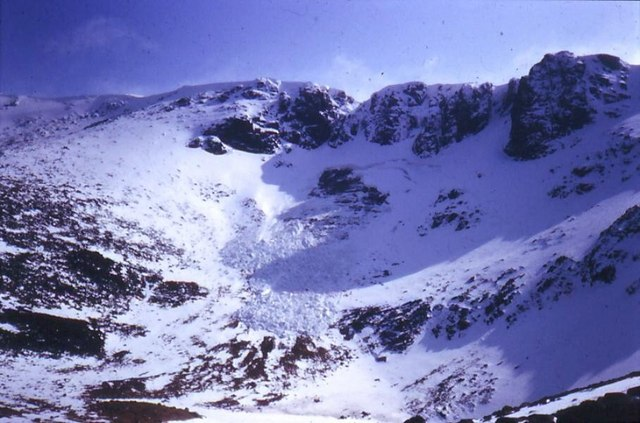 Slab Avalanche in Coire An Lochain