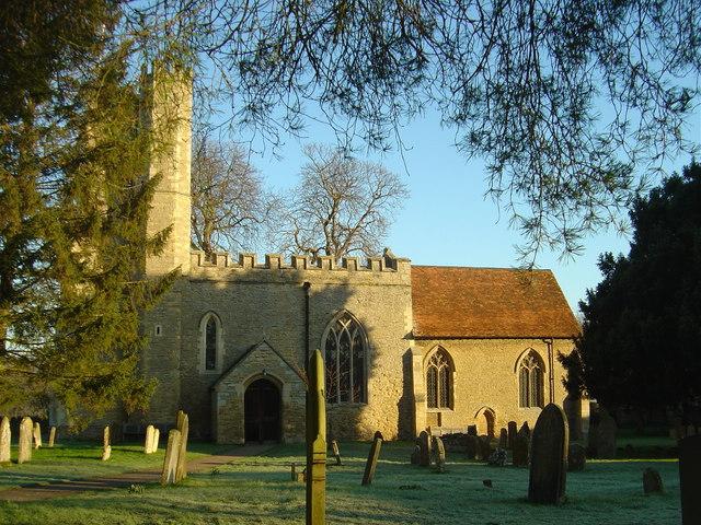 The parish church of St Nicholas,  Newton Blossomville
