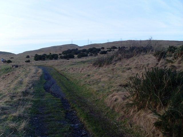 Pylon route on Cochno Hill