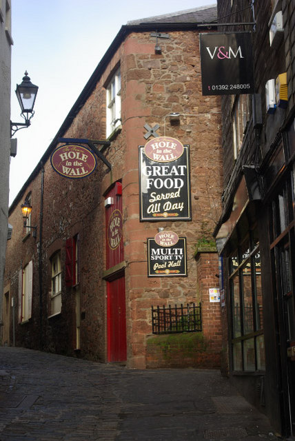 Little Castle Street, Exeter