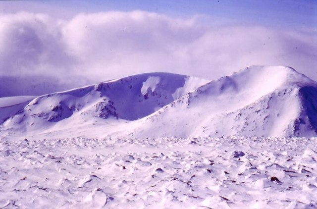 Cairn Toul from Ben MacDui