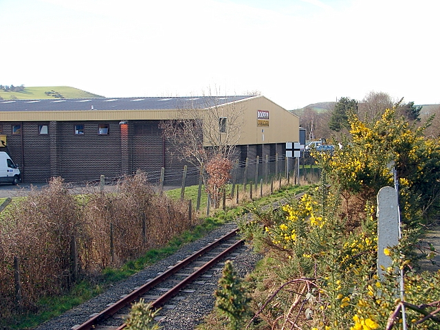 The Vale of Rheidol Railway at Glanyrafon