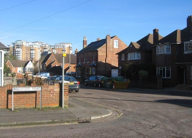 Corner of Rochford & Rayleigh roads