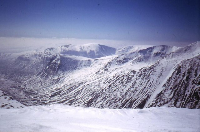 Across the Lairig Ghru from Ben MacDhui.