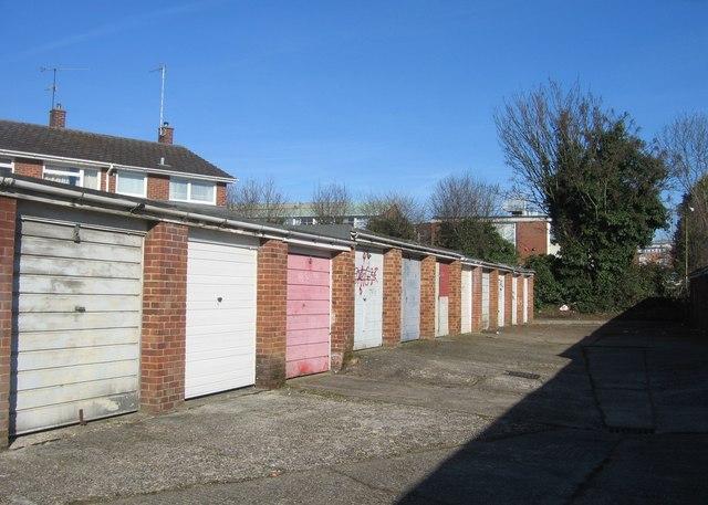 Budds Close garages