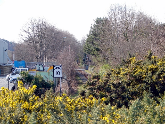 Speed limit at Glanyrafon