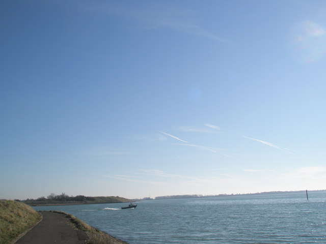 View out over Langstone Harbour
