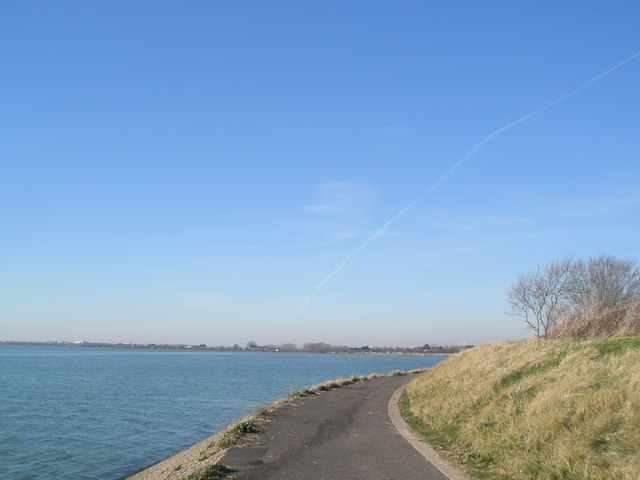 View back towards Portsea Island