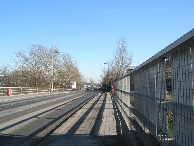Bridge over Hermitage estuary