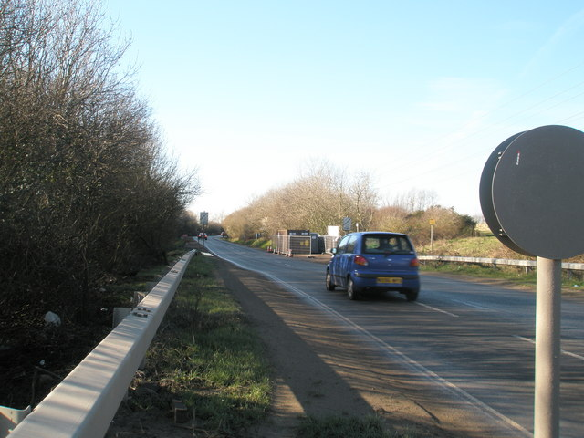Looking westwards towards Broadmarsh Interchange