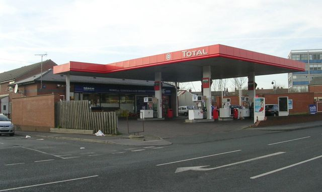 Total Filling Station - Harehills Lane