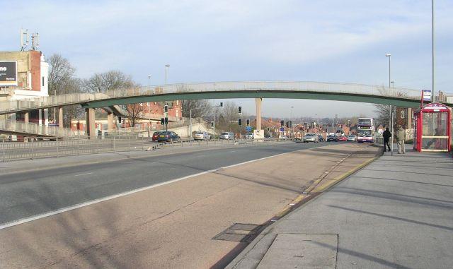 Footbridge over York Road