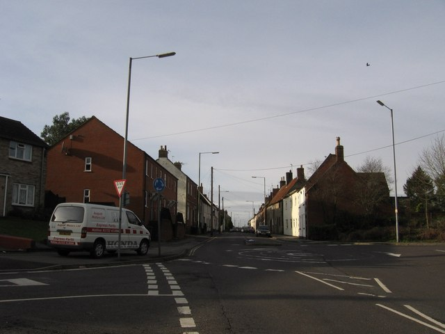 West Street looking towards the west