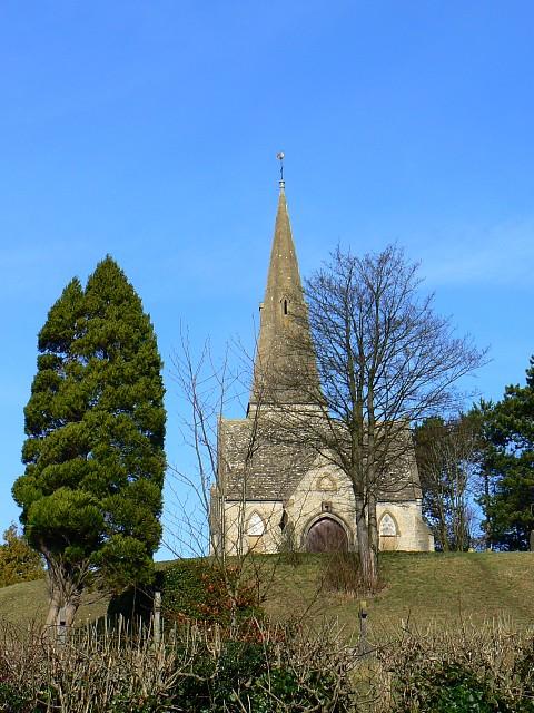 Stroud cemetery chapel, Bisley Road, Stroud