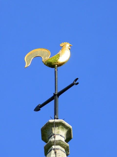 Weather vane, Stroud cemetery chapel