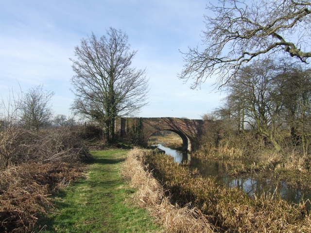 Winter on the Hatherton Branch Canal