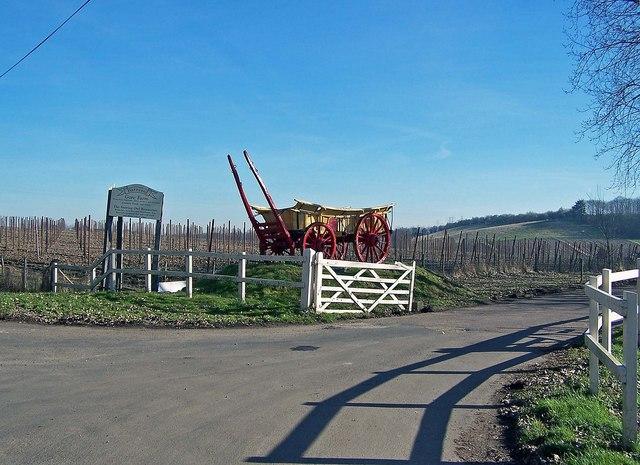 Entrance to Gore Farm Barnyard