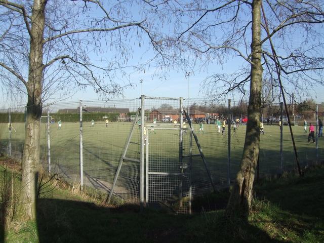 Sunday morning game at Cannock Hockey Club