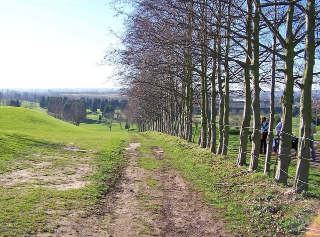 Footpath through River Valley Golf Course