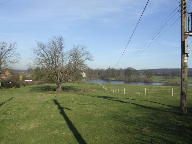 Parkland around Hatherton Hall