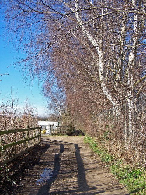 Track to Gore Farm from Boxted