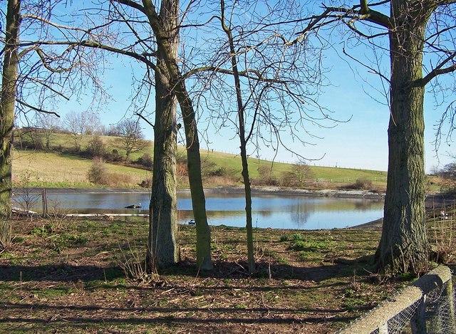 Reservoir at Gore Farm