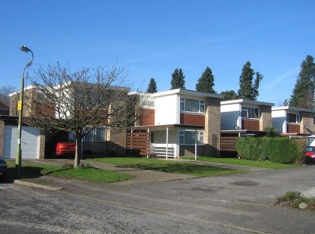 Modern housing - Packenham Road