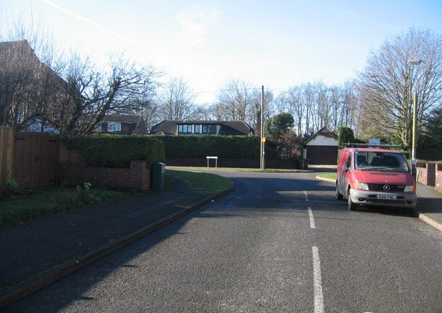 The corner at which point Packenham Road becomes Portacre Rise