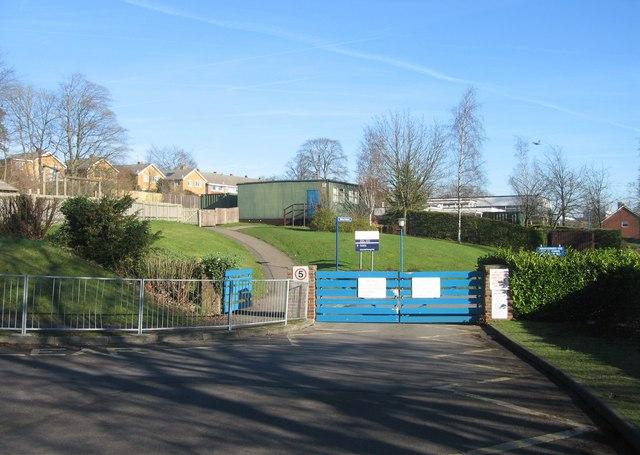 Entrance for Kings Furlong Junior & Infants schools