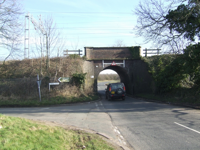 Under the Wolverhampton to Stafford Line