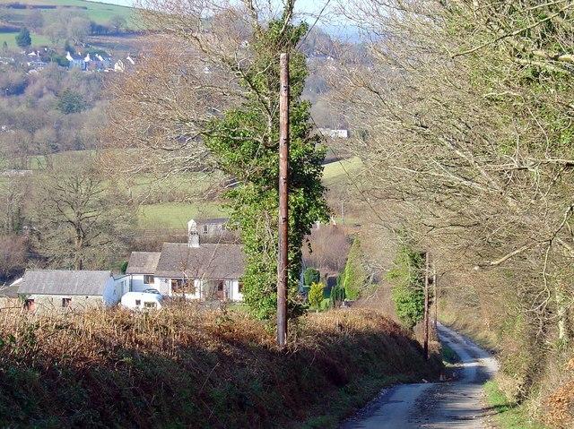 Houses at Aberdwylan