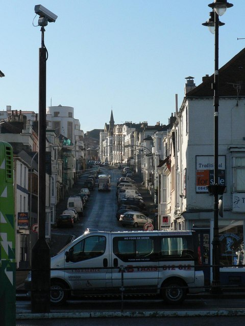 Ryde: George Street from the bus station
