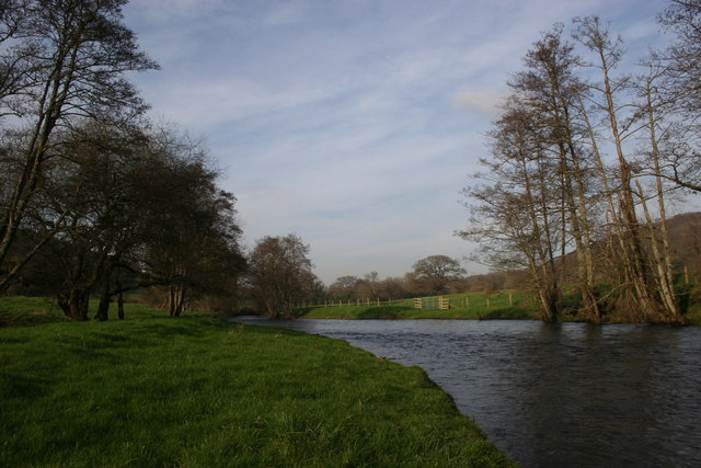 The River Teign at Lyneham
