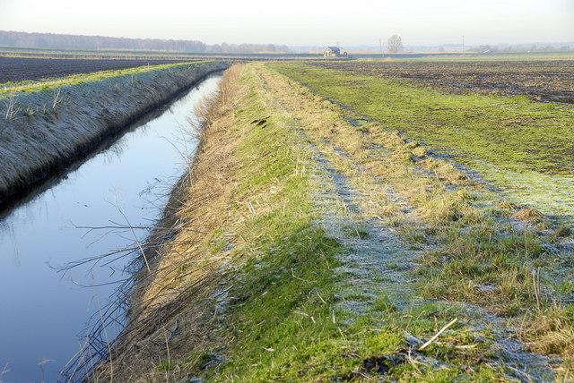 Drainage ditch, Yaxley Fen
