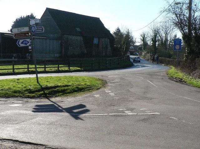 Havenstreet: road junction