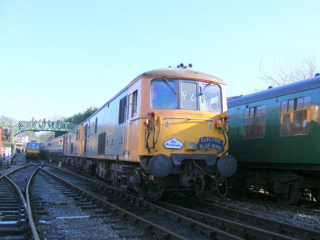 Rail Tour arrival!