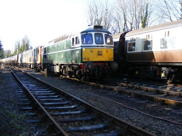 Rail Tour departure!