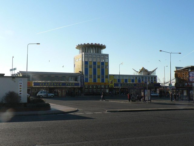Southsea: Clarence Pier