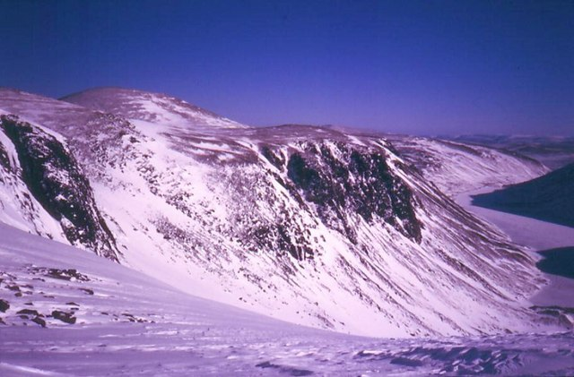 Stag Rocks, Hells Lum Crags and Cairngorm